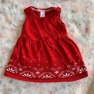 Carters 6 mo Christmas dress
